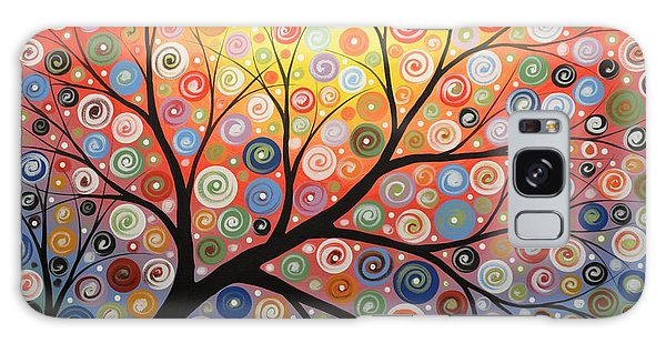 Reaching For The Light Galaxy Case by Amy Giacomelli