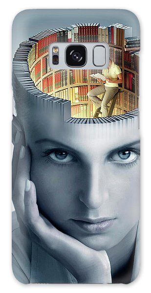 Reading And Memory Galaxy Case