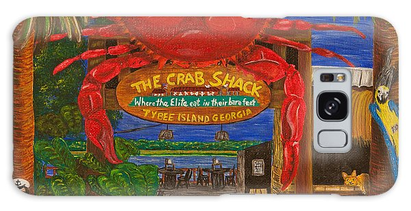 Ready For The Day At The Crab Shack Galaxy Case