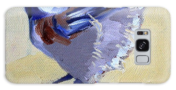 Chickadee Galaxy S8 Case - Ready To Fly by Nancy Merkle