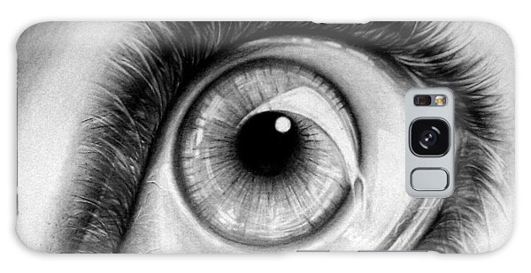 Realistic Eye Galaxy Case
