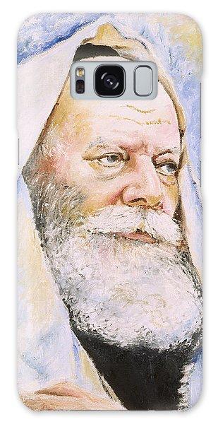 Rebbe In Tallis Galaxy Case