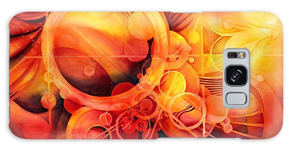 Mythology Galaxy Case - Rebirth - Phoenix by Hailey E Herrera