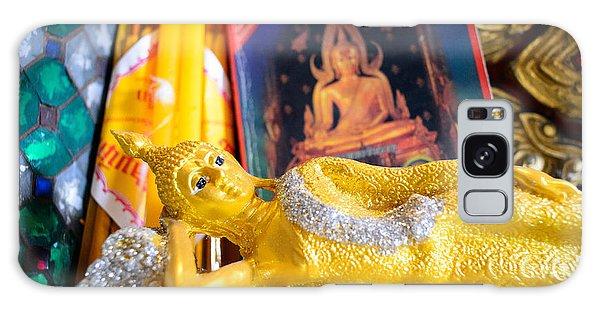 Reclining Buddha Galaxy Case by Dean Harte