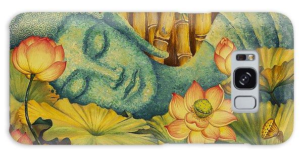 Buddha Galaxy Case - Reclining Buddha by Yuliya Glavnaya