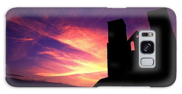 Reculver Church At Sunrise Galaxy Case