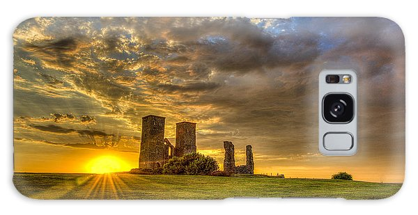 Reculver Towers Kent Sunset Galaxy Case