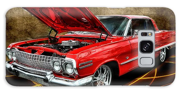 Red '63 Impala Galaxy Case
