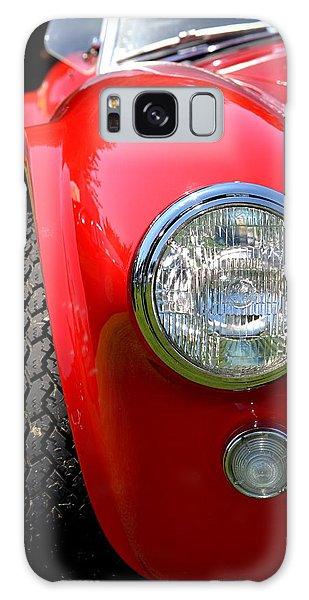 Red Ac Cobra Galaxy Case by Dean Ferreira
