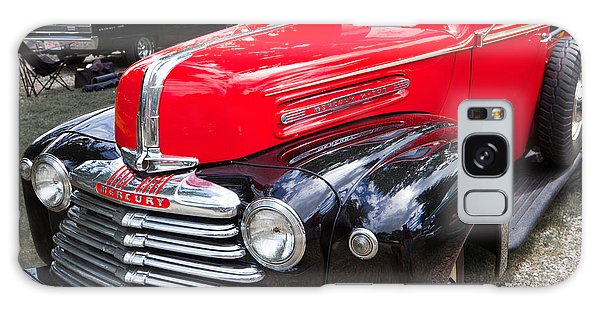 Red And Black Mercury Pick Up Galaxy Case by Mick Flynn