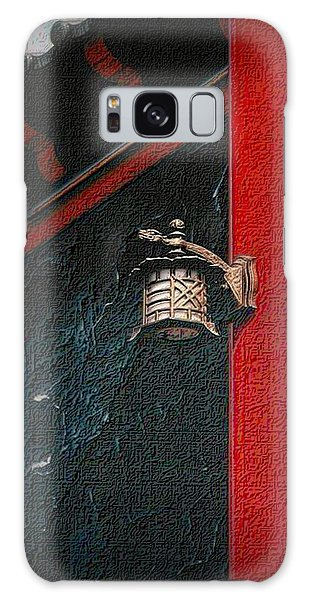 Red And Black Galaxy Case