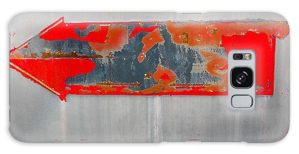 Red Arrow Galaxy Case by Christy Usilton