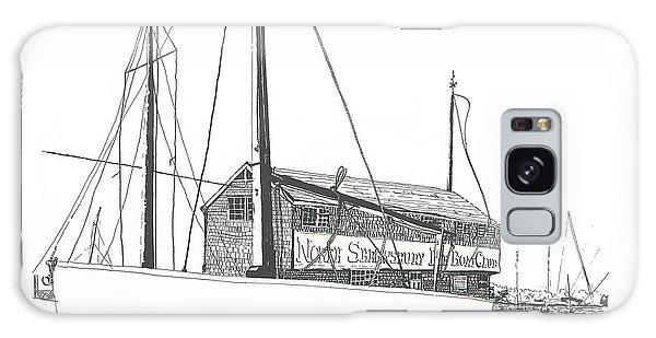 Red Bank Boat Club Galaxy Case by Alan Johnson