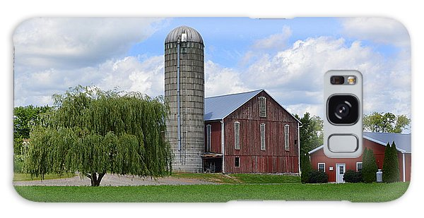 Red Barn #1 - Mifflinburg Pa Galaxy Case