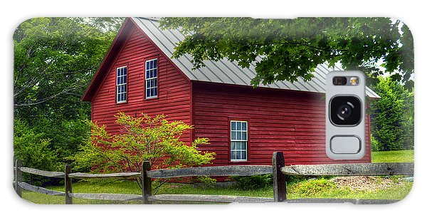 Red Barn In Tyringham - Berkshire County Galaxy Case