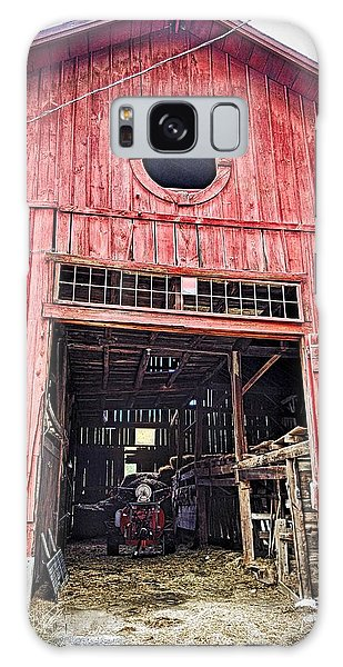 Red Barn Galaxy Case
