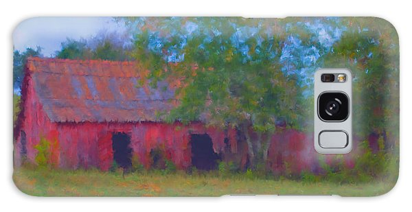 Red Barn Seven Galaxy Case by Ken Frischkorn