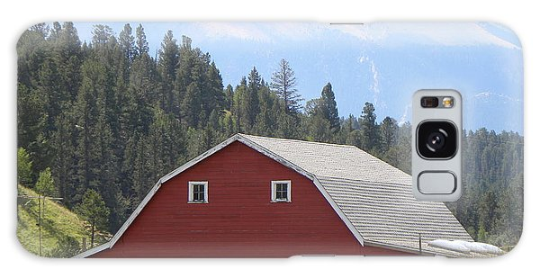 Barn - Pikes Peak Burgess Res Divide Co Galaxy Case