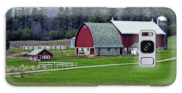 Red Barns Galaxy Case
