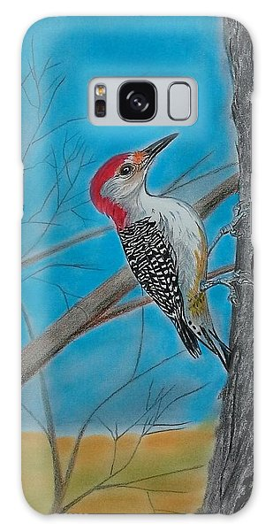 Red Bellied Woodpecker Galaxy Case