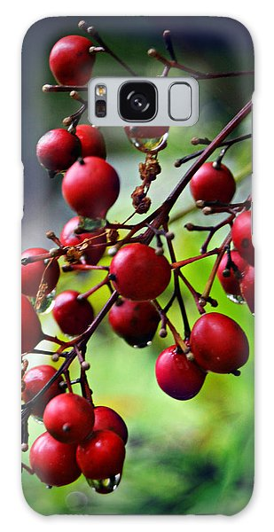 Red Berries Galaxy Case