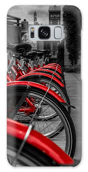 Red Bicycles Galaxy Case
