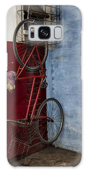 Red Bike Galaxy Case