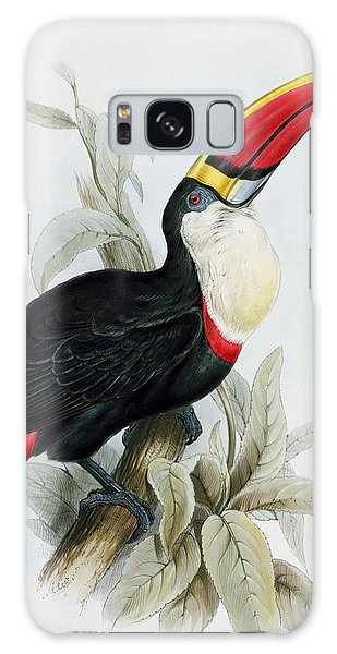Toucan Galaxy S8 Case - Red-billed Toucan by Edward Lear