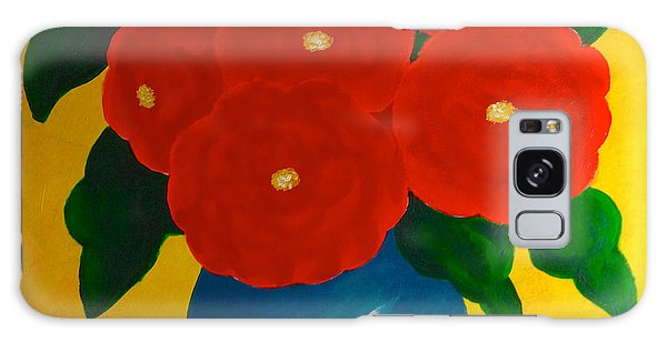 Red Bouquet Galaxy Case by Anita Lewis