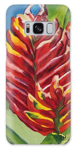 Red Bromeliad Galaxy Case
