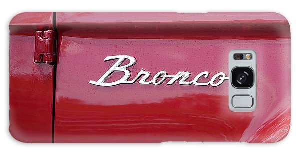 Red Bronco I Galaxy Case by Richard Reeve