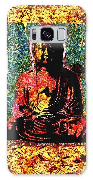 Red Buddha Galaxy Case