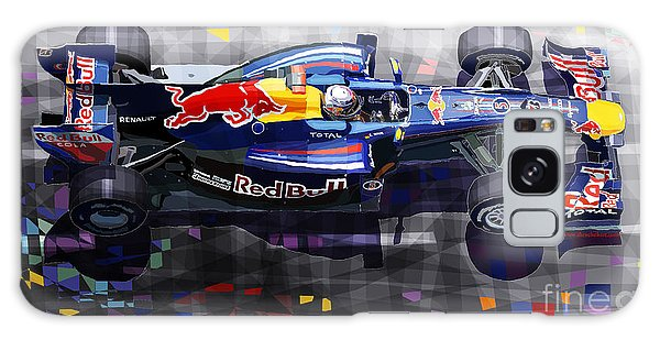 Car Galaxy S8 Case - Red Bull Rb6 Vettel 2010 by Yuriy Shevchuk
