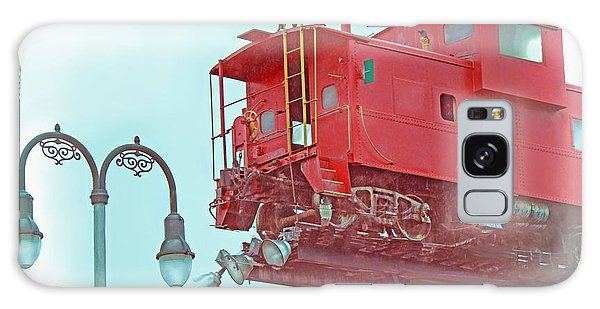 Red Caboose In The Sky2 Galaxy Case