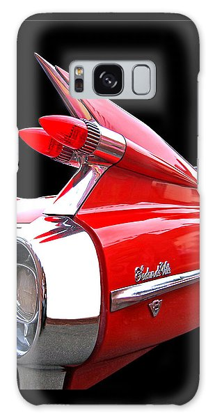 Red Cadillac Sedan De Ville 1959 Tail Fins Galaxy Case