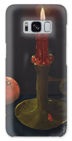 Red Candle Galaxy Case