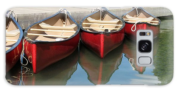 Red Canoes Galaxy Case