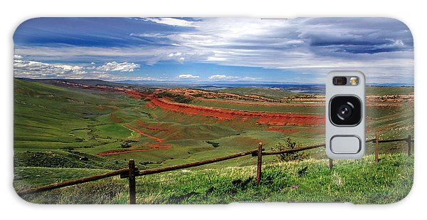Red Canyon Wyoming Galaxy Case