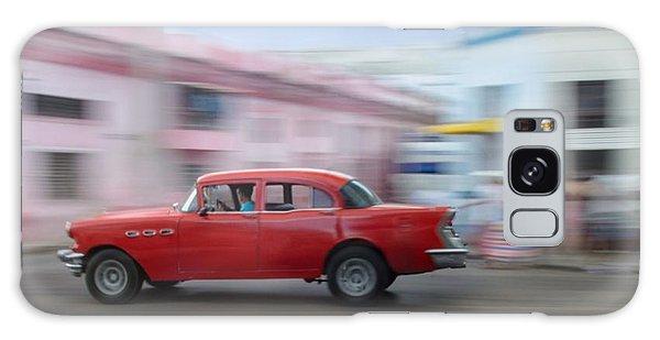 Red Car Havana Cuba Galaxy Case