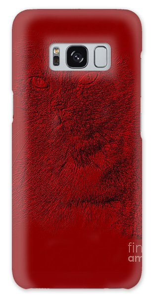 Red Cat Collection. Special... Galaxy Case by Oksana Semenchenko
