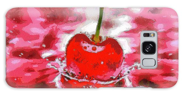 Red Cherry Galaxy Case