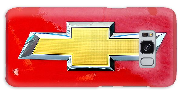 Red Chevy Bowtie Galaxy Case