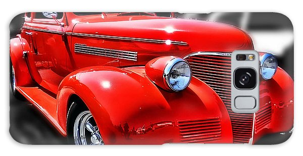 Red Chevy Hot Rod Galaxy Case