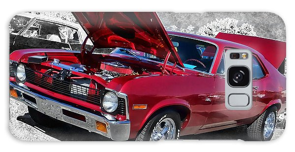 Red Chevy Nova Galaxy Case