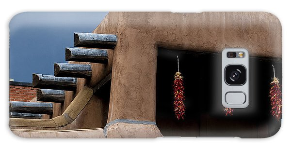 Red Chile Ristras Santa Fe Galaxy Case by Carol Leigh