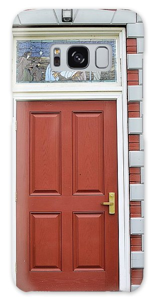 Wellsboro Galaxy Case - Red Church Door by Joel E Blyler