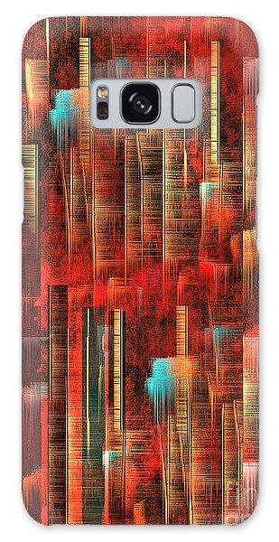 Concrete Jungle Galaxy Case by Yul Olaivar
