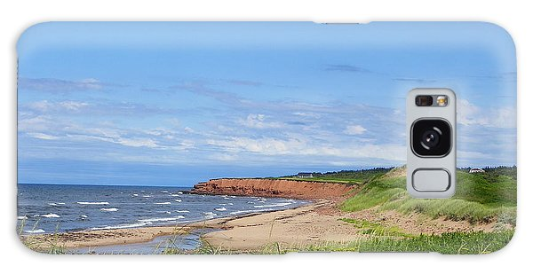 Red Cliffs Of Pei Galaxy Case