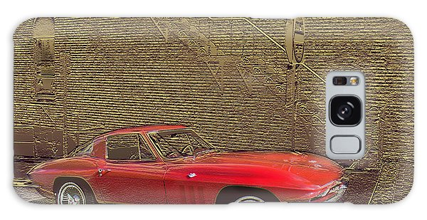 Red Corvette Galaxy Case