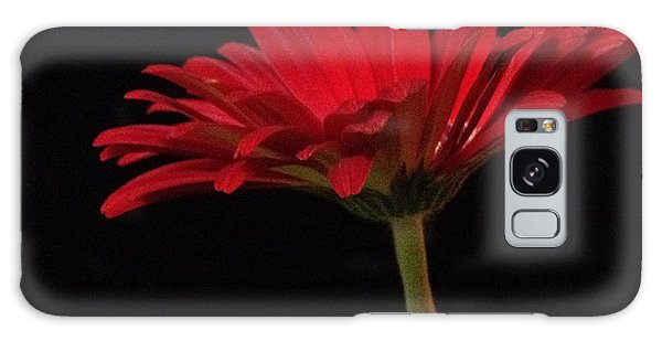 Red Daisy 2 Galaxy Case